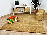 Theko Natur Teppich Indo Gabbeh Ella Beige in 8 Größen
