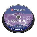 Verbatim DVD+R DL 8,5GB 8X
