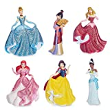 Offizielle Disney Princess 6 Formale Figur Set