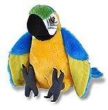 Wild Republic Plüsch Ara Papagei, Cuddlekins Kuscheltier, Plüschtier, 30cm