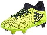 adidas Unisex-Kinder X 17.3 SG Fußballschuhe Gelb (Solar Yellow Legend Ink), 31 EU