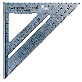 Swanson Tool Speed Square S0101Geo-Dreieck mit Anschlagwinkel, einfarbig, 7' (inches)