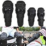 4pcs Kit Erwachsene Knie -Schienbeinprotektor Elbow Knee Shin Guard Pads Schützen Rider für Motorcycle Bike ATV Motocross