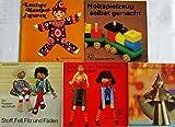 5 Hefte Brunnen Reihe: Nr. 15 Stoff, Fell, Filz und Fäden; 20 Weihnachtliches aus Goldpapier; 88 Spielzeug und Tischschmuck aus Holzkugeln; 94 Holzspielzeug selbst gemacht; 99 Lustige Hampelfiguren.
