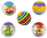 Bright Starts FBA_9079 - Shake&Spin activity balls