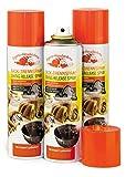 3er-Set Back-Trennspray zum Einfetten von Backformen/-blechen, 200 ml