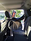 Butterfly Sattelhalter Auto klappbar DT-Saddlery Autosattelhalter flexibel Sattelträger