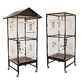 Montana Cages  | Voliere, Zimmervoliere, Käfig Villa Casa 60 - Choco/Vanilla