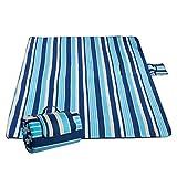 Sable Picknickdecke, Campingdecke Outdoor–Unterlage 200 x 200 cm, Wasserdichte Stranddecke mit extrabreitem Griff für Reisen, Wandern, Camping