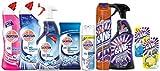 Reinigungsmittel-Set für Ihr Badezimmer Sparpack mit 9 Artikeln