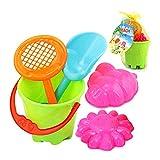 mxdmai 5- teiliges Sand Spielzeug-Set für Strand Spaß