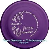 White Jawz Hyperflex Disc - weiche Hundefrisbee mit Biss