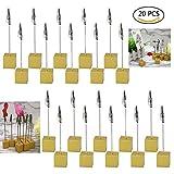 Dproptel Memo Clip Tischkartenhalter Sitzkartenhalter Fotoständer Tischhalter für Haus Büro Dekoration