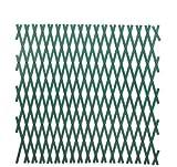 Papillon Rankgitter, PVC, 3x1Meter, Grün