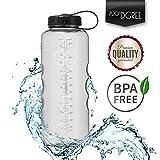 720°DGREE Trinkflasche simplBottle Wasserflasche aus Tritan 1,5l | Auslaufsichere Flasche mit Weithals für Sport, Outdoor | Perfekte Sportflasche - BPA Frei | Gym Bottle - Robust