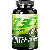 ZEC+ Kapseln GRÜNTEE EXTRAKT   am höchsten dosierter Extrakt aus grünem Tee   1000 mg pro Kapsel   steigert das Wohlbefinden und allgemeine Gesundheit   120 Kapseln