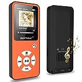 BERTRONIC Made in Germany BC01 Royal MP3-Player, 16 GB  Bis 100 Stunden Wiedergabe  Radio | Portabler Player mit Lautsprecher | Audio-Player für Sport mit Micro SD-Karte & Silikonhülle