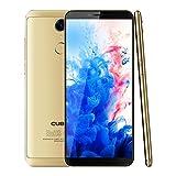 CUBOT Nova 4G LTE Smartphone Ohne Vertrag 5.5 Zoll(18:9) HD+ Display 13.0MP+ 8.0MP Kamera,Dual SIM, Android 8.1,3GB RAM+16GB ROM Speicher,Fingerabdruck Sensor,2800mAh Akku (Gold)