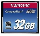 Transcend Extreme-Speed 400x 32GB Compact Flash Speicherkarte