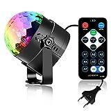 Zantec LED-Partybeleuchtung, RGB, Sound, Aktivierung, Karaoke-Maschine, Stroboskop, Tanz, Disco, DJ, Kugel-Lichter