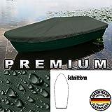 Premium Boot Persenning - Anka, Ruderboot, Schlauchboot, Angelboot & Co Bootsplane extrem reißfest (Olivgrün, 450 cm x 150 cm)