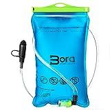 Premium Trinkblase 2L mit Beissventil - BPA-frei, antibakteriell und auslaufsicher für jeden Trinkrucksack geeignet - hochwertiges Trinksystem 2 Liter für Sport & Freizeit