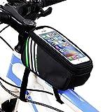 Fahrrad Rahmentaschen,Yica Fahrrad Rahmentaschen Handyhalter Fahrrad Tasche Lenkertasche mit wasserdichte für iPhone7/7Plus/ 6s Plus/6 Plus/Samsung s7 edge/S8 andere bis zu 5,7 Zoll Smartphone