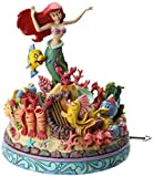 Enesco 4039073 Figur Disney Tradition Under The Sea, The Little Mermaid Musical, 17,8 x 17,8 x 20,3 cm