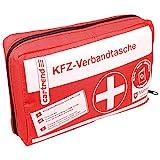 Cartrend 7730042 Verbandtasche rot, DIN 13164, mit Malteser Erste-Hilfe-Sofortmaßnahmen