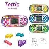 Dadiku Kisshes Mini Handheld Spiel für Tetris Racing Car Handheld-Konsole für Kinder Spielzeug Handkonsolen
