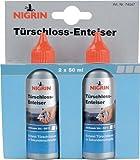 NIGRIN 74047 Türschloßenteiser, wirksam bis -50°C (2x50ml)
