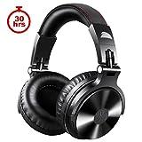 OneOdio 4.1 Bluetooth Kopfhörer, Kabellos/verkabelt Over Ear Headset Dual 50mm Treiber, 30 Stunden Spielzeit, DJ Kopfhörer