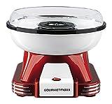 GOURMETmaxx 07329 Zuckerwatte-Maschine für zuhause   ideal für Kindergeburtstag   500 Watt   Rot-Weiß