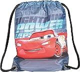 Baagl Disney Cars 3 Sportsack für Sport und Schule - Wasserdichte Schuhbeutel, Turnbeutel für Jungen