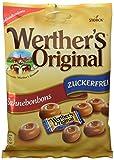 Werther's Original Bonbons, zuckerfrei, 12er Pack (12x 70 g Beutel)