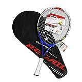 heling896 Kinder Teenager Tennisschläger, Tennisschläger mit Schlägertasche Aluminiumlegierung Tennisschläger langlebig und leicht