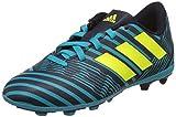 adidas Jungen Nemeziz 17.4 Fxg J Fußballschuhe, Mehrfarbig (Legend Ink /solar Yellow/energy Blue ), 36 2/3 EU