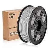 SUNLU 3D Printer Filament ABS, 1.75mm ABS 3D Printer Filament, 3D Printing Filament ABS for 3D Printer, 1kg, Grey