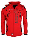 6A5 Geographical Norway Tambour Herren Softshell Jacke Outdoor Rot M