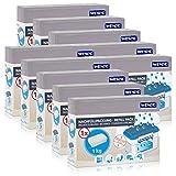 10x Wenko Nachfüllpackung Feuchtigkeitskiller Raum-Entfeuchter, 1kg Granulat
