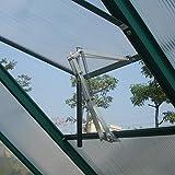Decdeal Automatischer Fensteröffner Temperaturgesteuert mit 7kg Hubkraft, 45cm Hubhöhe, Doppelte Schubkraft