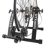 DTX Fitness - Rollentrainer für Fahrrad - verstellbar - zur Konvertierung von Fahrrädern in Heimtrainer - Schwarz