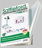 Sattleford Overheadfolie: 50 Inkjet-Overhead-Folien, DIN A4, transparent (Overheadfolien Tintenstrahldrucker)