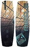 MESLE Wakeboard Airtime S 142 cm, Wettkampf-Board mit Grind-Base für Wakeparks