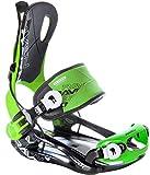 Raven Snowboard Bindung Fastec FT270 Green Größe: XL