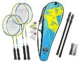 Talbot Torro Family 2Junior+2 Standardschläger,Thermobag, Netz (2017), 449507 Badminton Set, Mehrfarbig, M