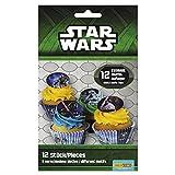 Dekoback Essbare Zucker-Muffinaufleger Star Wars, 1er Pack (1 x 42 g)