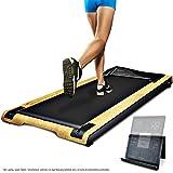 Sportstech DFT200 Büro Laufband, silber, 1300 x 560 x 170mm
