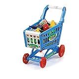 Spielzeug-Einkaufswagen-Set für Kinder - 78 Lebensmittel enthalten - Praktische Größe