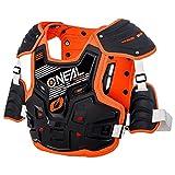 O'Neal PXR Stone Shield Protektoren Jacke Offroad Motocross Enduro MX Panzer Rücken Brust, 0734-1, Farbe orange